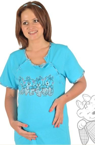 Kojící noční košile Vienetta - Medvídci
