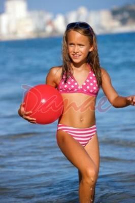 04005cb9b51 Dívčí plavky dvoudílné Lorin DP2 - Danaeshop