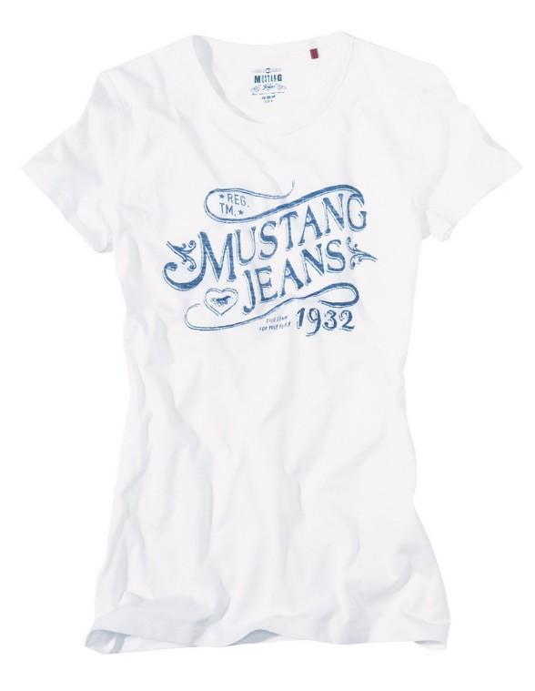 Dámské tričko Mustang Jeans