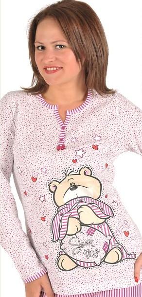 Dámské dlouhé pyžamo Vienetta - Sleep Time