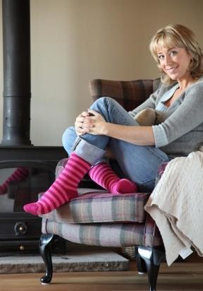 Heat Holders dámské ponožky - proužkované