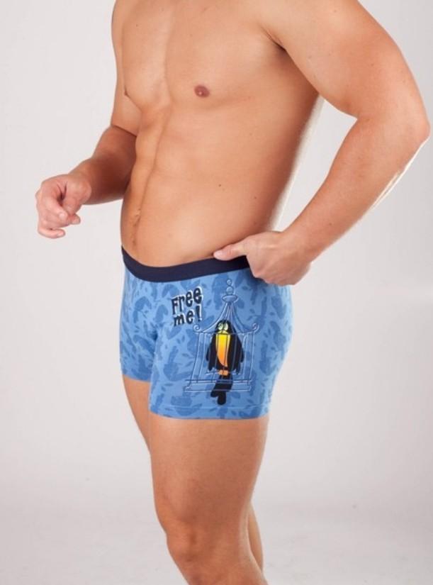 Pánské boxerky Cornette Tattoo - Free me!