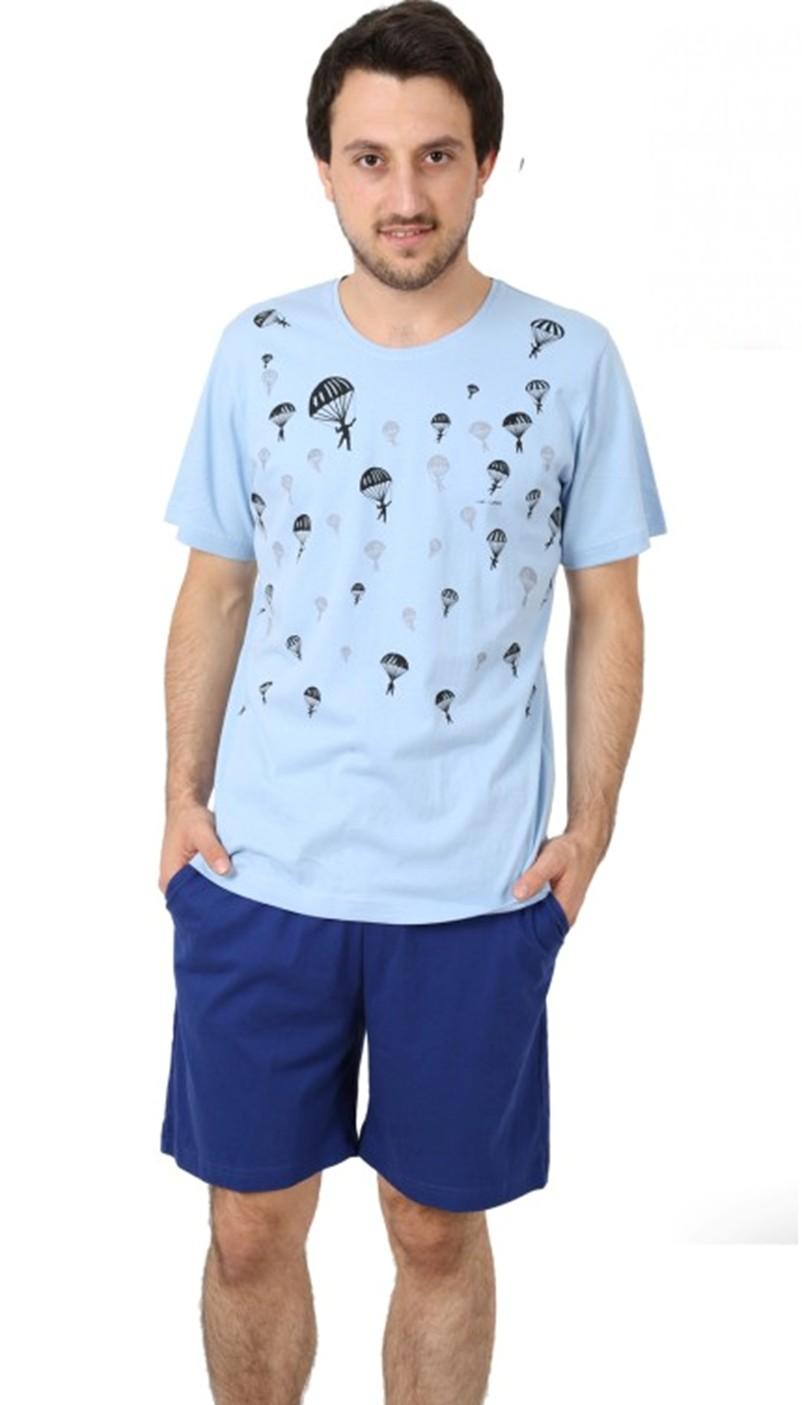 Pánské pyžamo krátké šortky - Výsadkář