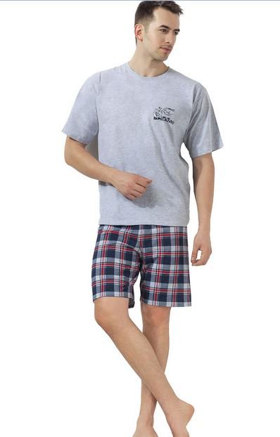 Pánské pyžamo krátké šortky - Sny o motorce