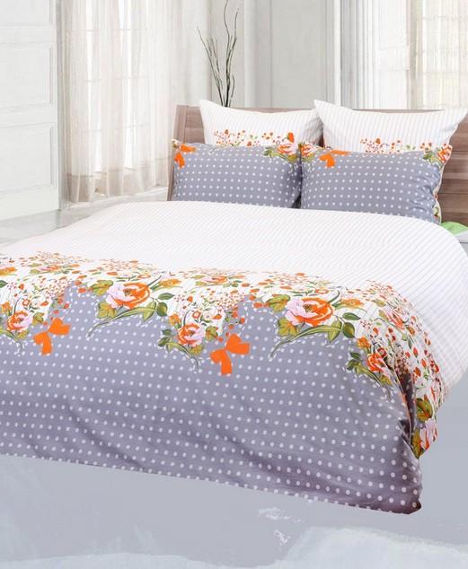 Tečkované povlečení na postel Mary 140 x 200 cm