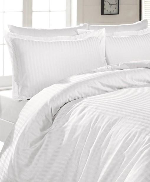 Saténové povlečení na postel - Atlas 140 x 200