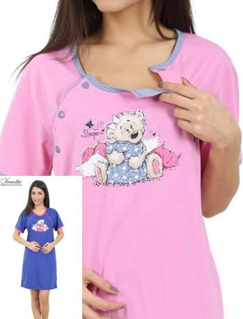 Noční košile pro maminky ke kojení - Spachtoš