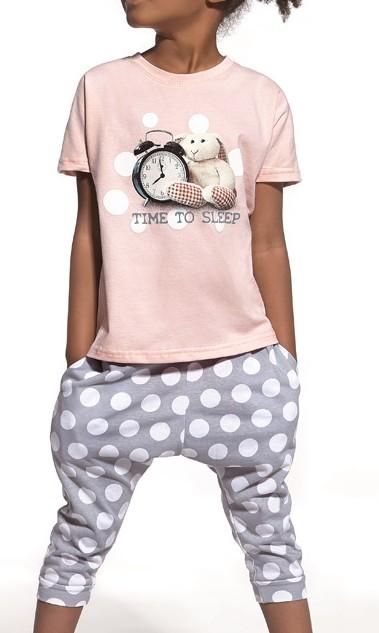 Moderní dívčí pyžamo - Time to Sleep