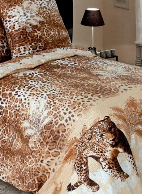 Bavlněné ložní povlečení Gepard 140 x 200 cm
