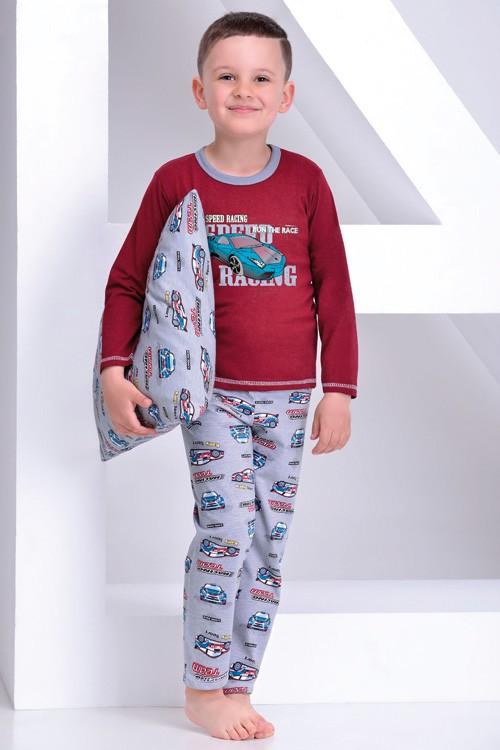 Pyžamo chlapecké dlouhé Damian - 86-140 - Auto