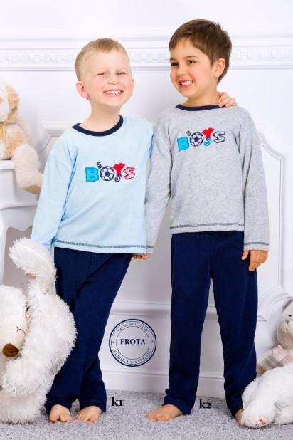Froté pyžamo chlapecké dlouhé - Boys