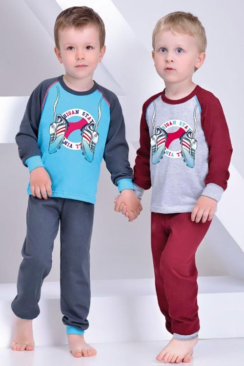 Chlapecké pyžamo s patentem Tenisky 92-140