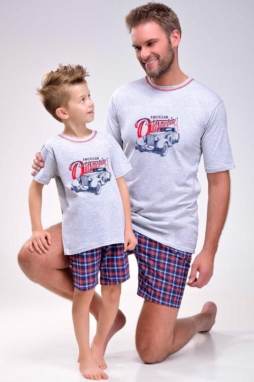 American Oldsmobile - pánské pyžamo krátké