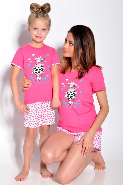 Vtipné dětské pyžamo Kravička Matilda