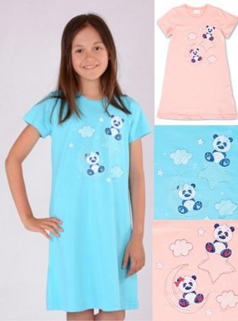 Dětská noční košile Panda - Měsíc - hvězda