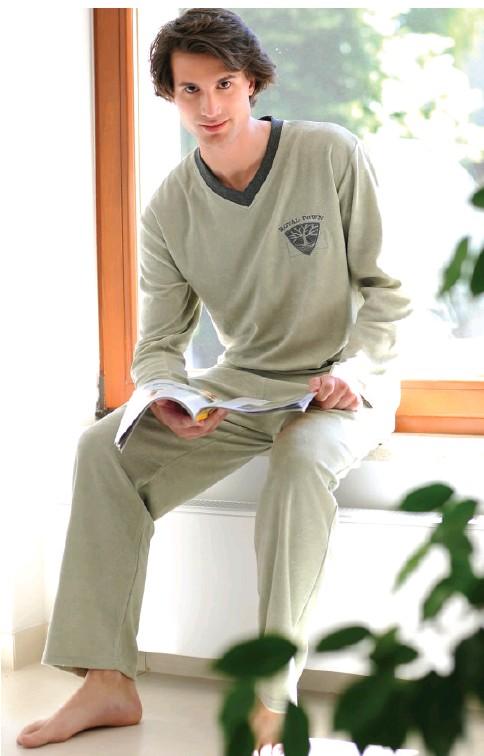 Froté pánské pyžamo dlouhé Regina 386/451