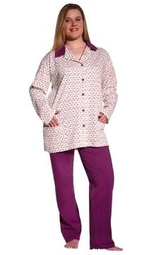 Dámské pyžamo dlouhé Taro 133 Ewelina